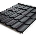 Ongeïsoleerde dakpanplaten